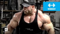 IFBB Pro Branch Warren's Shoulder Workout for Mass | Classic Workout (HD)